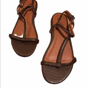 H&M sandals brown 38 (size 7.5-8)